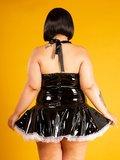 Plus size dienstmeisje jurk