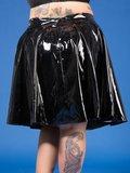 plisse rok van lak grote maat