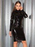 Lange jurk pvc