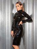Zwarte lange jurkj