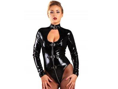 zwarte lak body