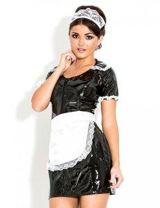 Lak serveerster jurkje