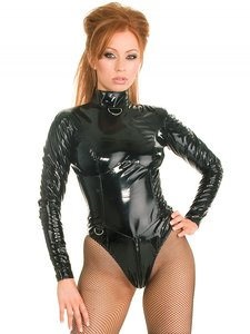 Plus size lak bodystocking